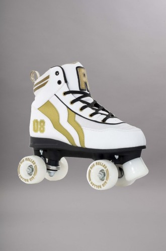 Roller Quad Complets Rio Roller Varsity White/gold