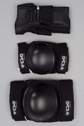 Kit de Protection Tsg Junior Set Black