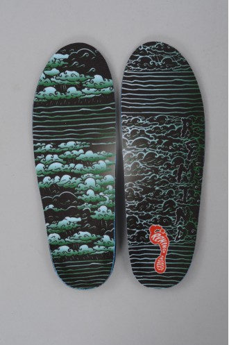 Snowboard Remind Insoles Destin Clouds