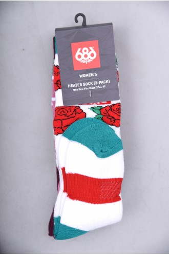 Snowboard 686 Heater Sock 3 Pack