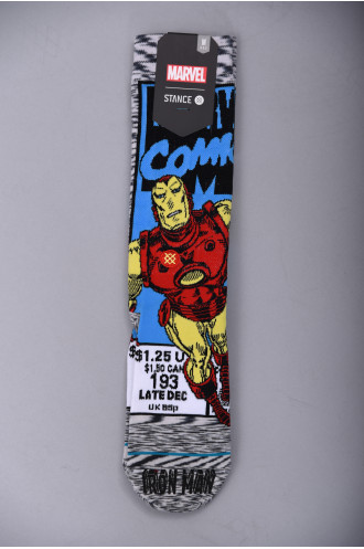Vêtement Streetwear Homme Stance Dtc Iron Man Comic...