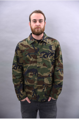 Chemises Stussy Military Ls Shirt