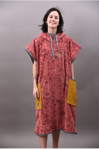 All In All In Classic Bumpy Poncho