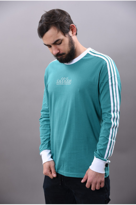 T Shirt manches longues Adidas Skateboarding Heritage Polo