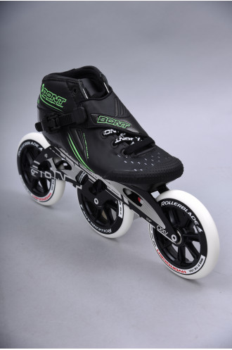 Patins Complets Bont Jet 125 Black/green