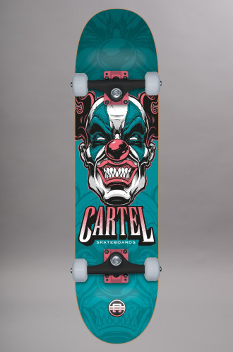 Skate Complet Cartel This Teal 8.0