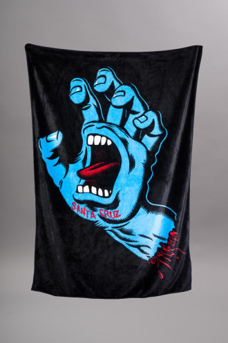 Serviette de plage Santa Cruz Screaming Hand...