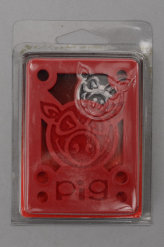 Accessoire Skate Pig Pads 0.125 Pouce Hard Red