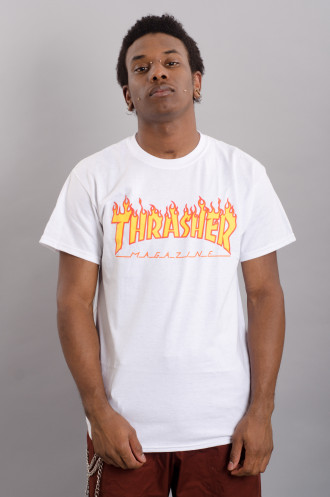 Vêtements Streetwear Thrasher T-shirt Flame Logo