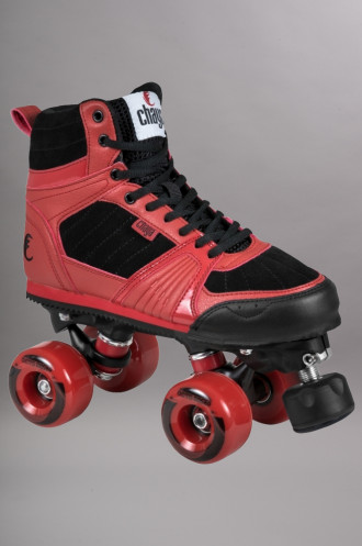 Roller Quad Complets Chaya Jump Red