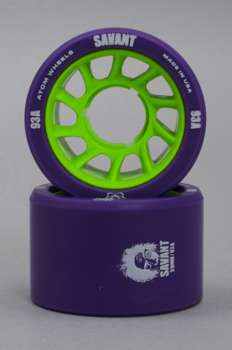 Atom wheels Atom Savant Purple 59mm-93a
