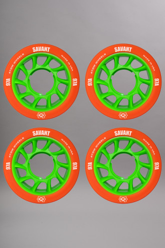 Atom wheels Atom Savant Orange 59mm-97a