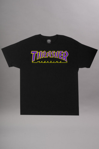 T-shirts Thrasher T-shirt Outlined Ss