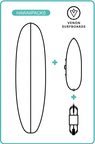 Sports Nautiques Pack Surf Funboard Venon