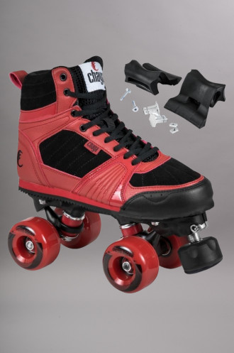 Roller Quad Chaya Jump Black/red...