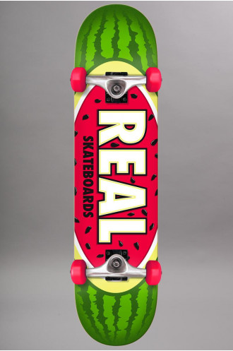Skateboard Real Team Watermelon 7.5...
