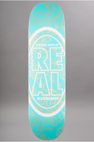 Skateboard Real Pp Stacked Oval Floral...