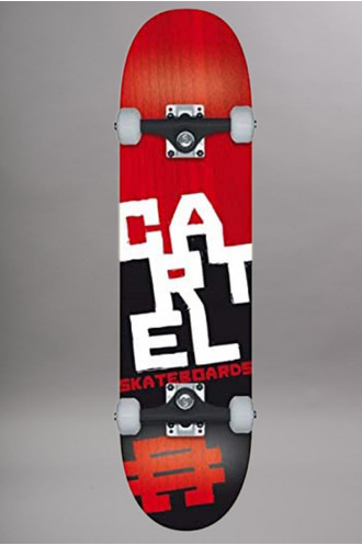 Skateboard Cartel Kids Assembly Red...