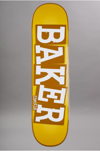 Skateboard Baker Deck 8.38 Ribbon Name...
