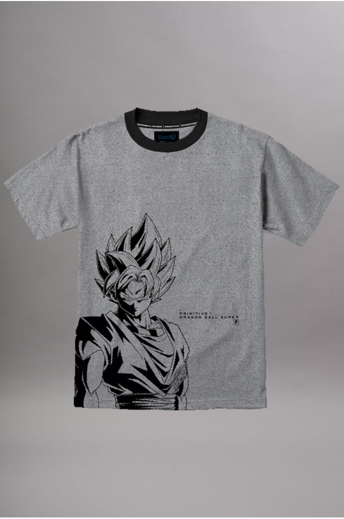 tshirts-&-chemises-primitive-t-shirt-ssg-goku-ss-grey-heather-1