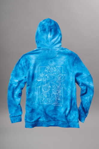 Bons Plans Vêtements Homme Primitive Sweat Ssg Hood Blue