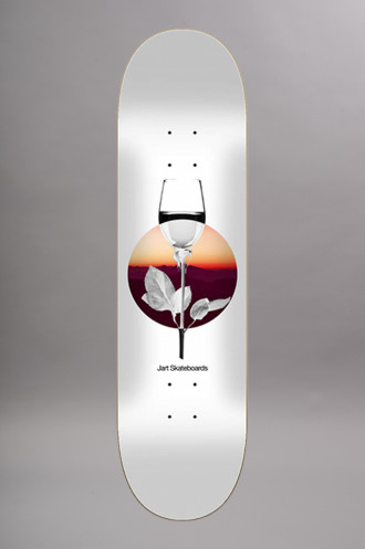Plateaux Skate Jart Abstract 8.25x31.7 Hc...