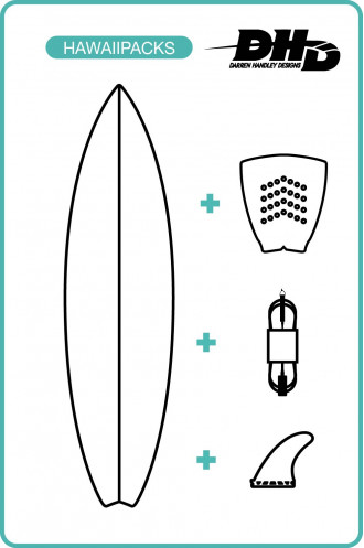 DHD Surfboards Pack Surf Dhd