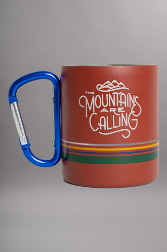 United by blue Mntns Are Cal Carabiner Cup...