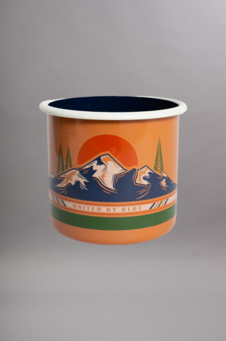 Bagagerie Accessoires To The Mountns 22oz Enamel...