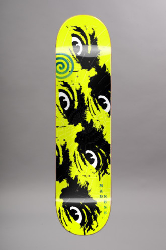 Erable + résine Epoxy Madness Deck Side Eye R7...