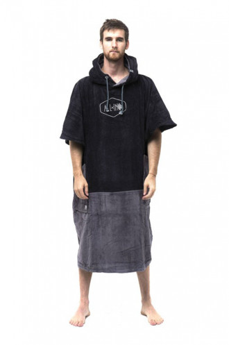 All In All In Big Foot Poncho