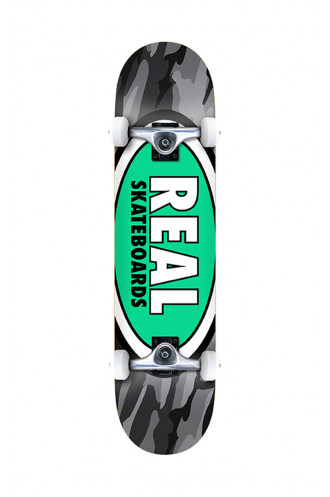 Skate Complet Real 8.25 X 32.2 Team Oval...