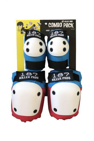 Kit de Protection 187 Killer Pads Combo Pack...