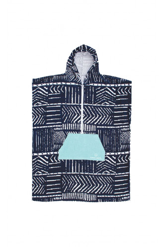 Ocean Earth Ocean Earth Zip Poncho Ladies