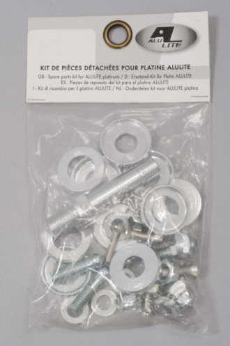 Roller Quad Alulite Kit Pieces Detachees