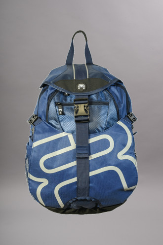 ROLLER Fr Skates Backpack Medium Bleu