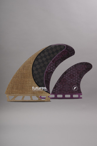 Dérives Futures Twin Tri Fin Set...