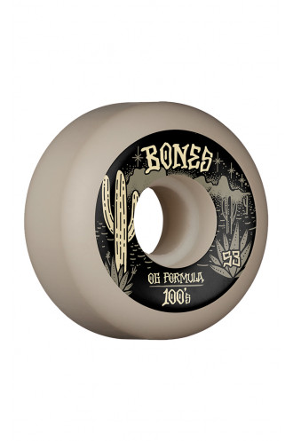 SKATEBOARD Bones Wheels 100's 53mm V5...