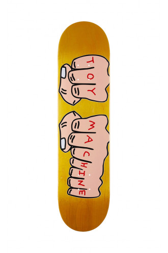 Plateaux Toy Machine 7.75 Fists Deck