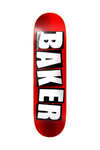 Plateaux Baker Deck Brand Logo Red...