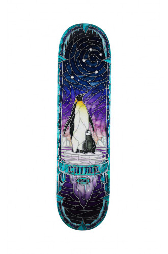 SKATEBOARD Real Chiima Cathedral Deck...