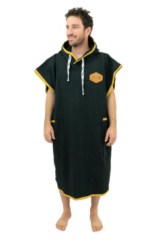 All In All In Waffle Poncho Homme