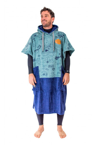 Combinaison Neoprene All In V Poncho Bumpy Line...