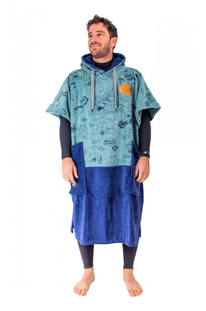 adultes-all-in-v-poncho-bumpy-line-homme-3