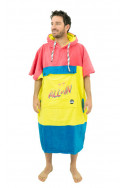 adultes-all-in-v-poncho-bumpy-line-homme