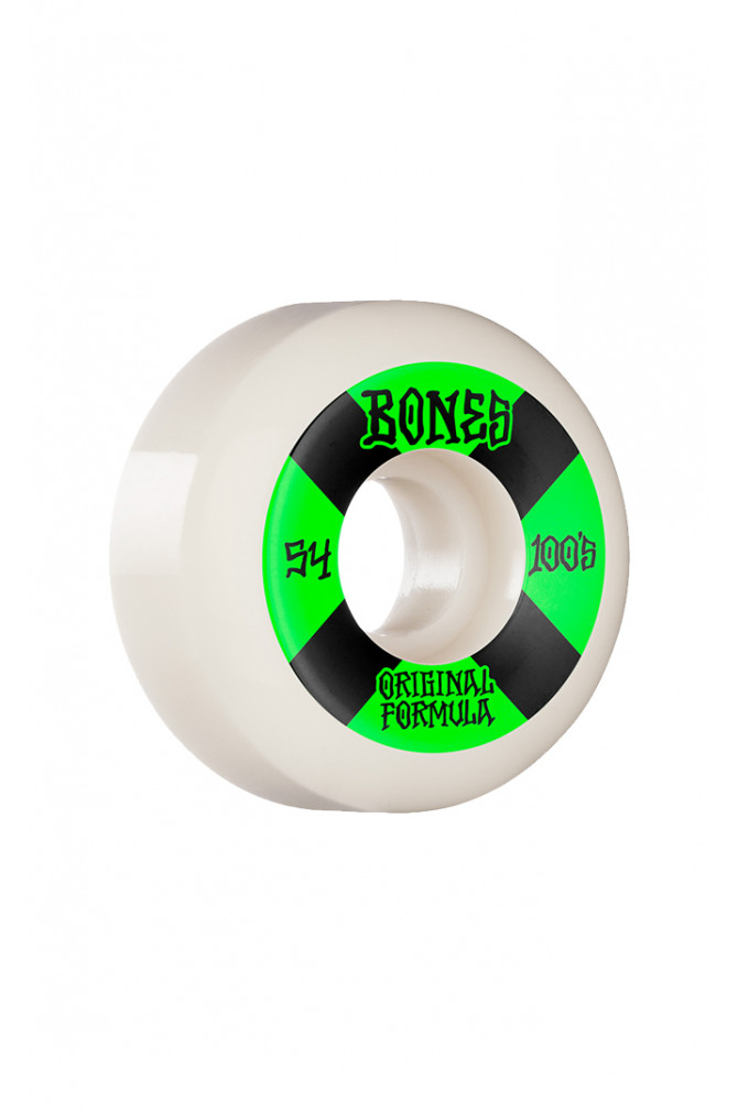 skateboard-bones-wheels-100's-54mm-v5-(jeu-de-4)-2