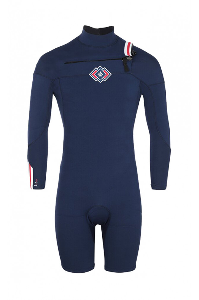 surf-saint-jacques-wetsuits-clovis-3/2mm-shorty-long-sleeves-ches-4
