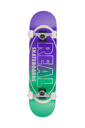SKATEBOARD Real 8.0 X 31.8 Golden Oval...