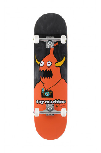 SKATEBOARD Toy Machine Complete 8.5...