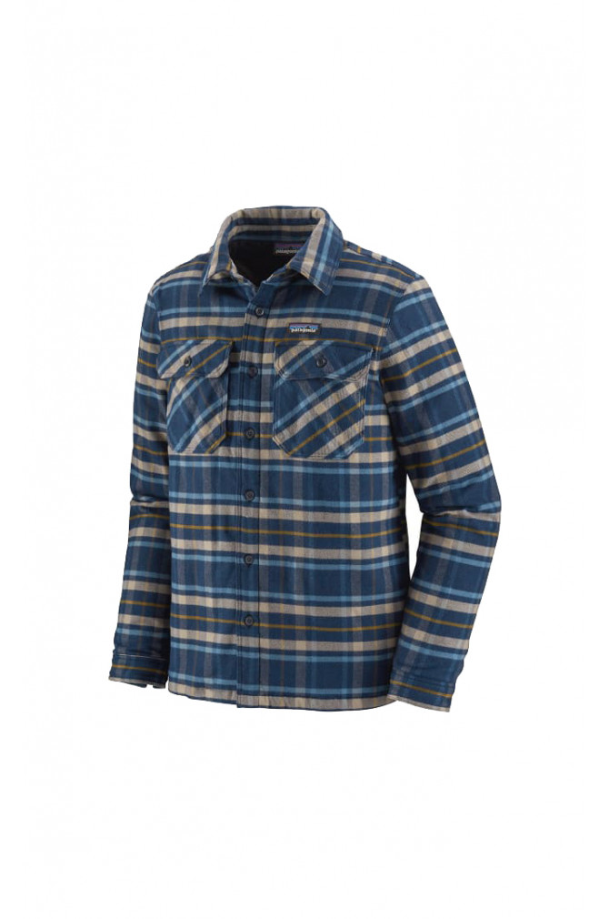 sweats-&-vestes-patagonia-m's-insulated-fjord-flannel-jkt-2